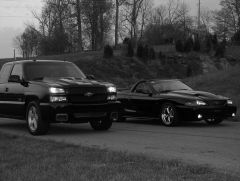 is this a sin...an SS and a Stang together in a pic?
