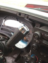 Leather Wrapped Escalade Shift Handle