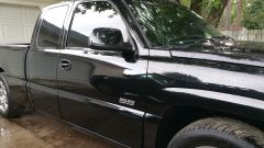 cant see it that good but got my tint done, matched the sides and windshield brow to the back