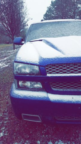 Little Mississippi snow