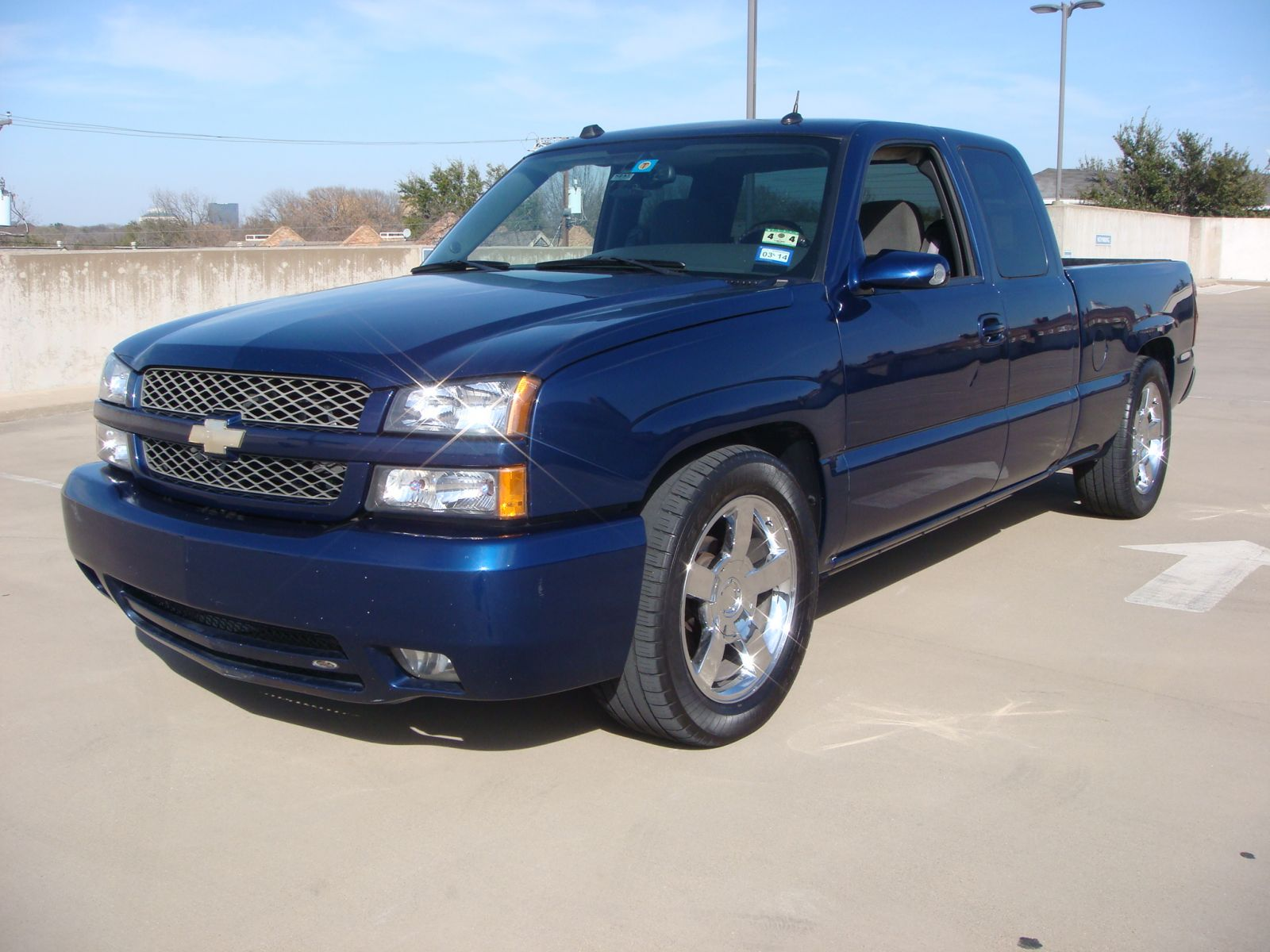 2004 silverado ls with joe gibbs front exterior. Black Bedroom Furniture Sets. Home Design Ideas