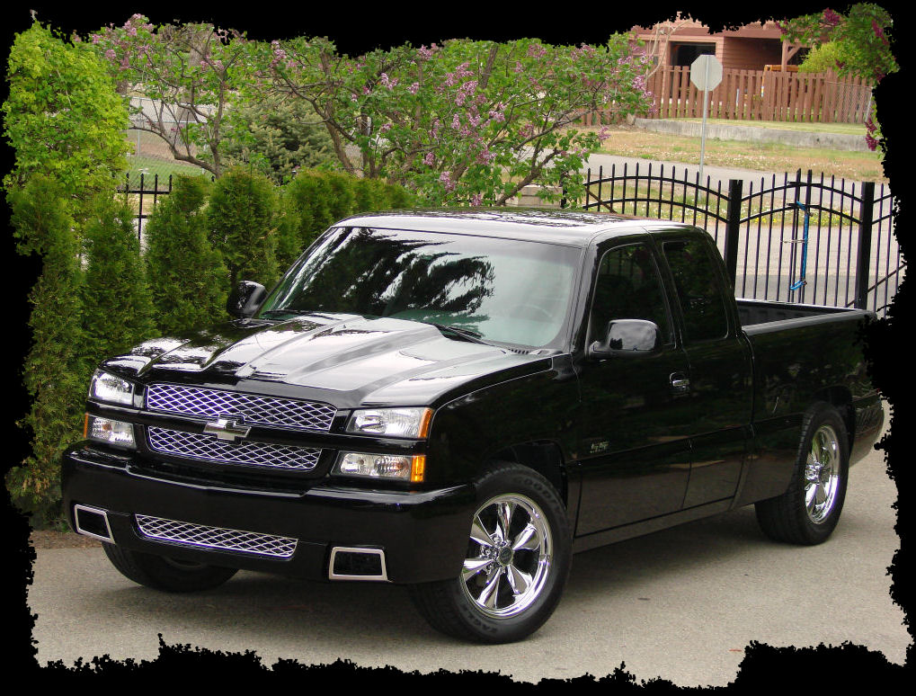 chevrolet silverado ss 2003 garage system. Black Bedroom Furniture Sets. Home Design Ideas