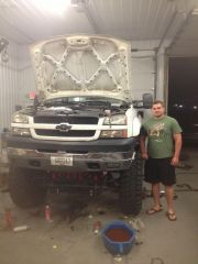A customers lifted LB7 dmax