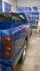 Finished detailing in my shop