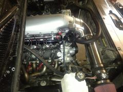 LS2 408/LSA cnc heads and Holley intake